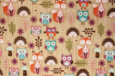 Woodland Critters 1 (10 cm)
