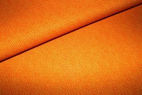 "Baumwollstoff ""Dotty"" orange (10 cm)"