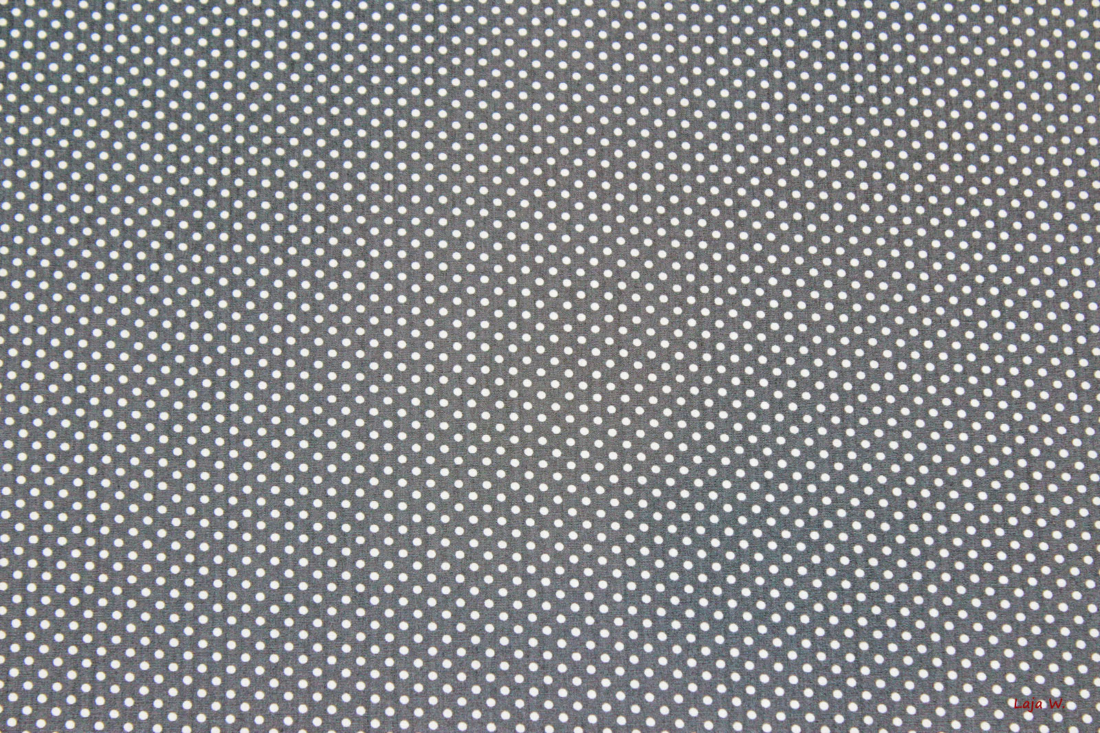 5bdb66cc1f Baumwolle Punkte grau/weiss (10 cm)