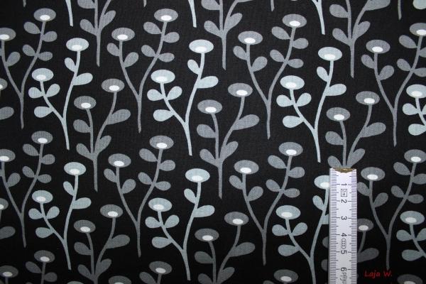 lajaw stoff blob blob schwarz grau weiss. Black Bedroom Furniture Sets. Home Design Ideas