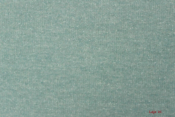 Glamoursweat mint/silber (10 cm)