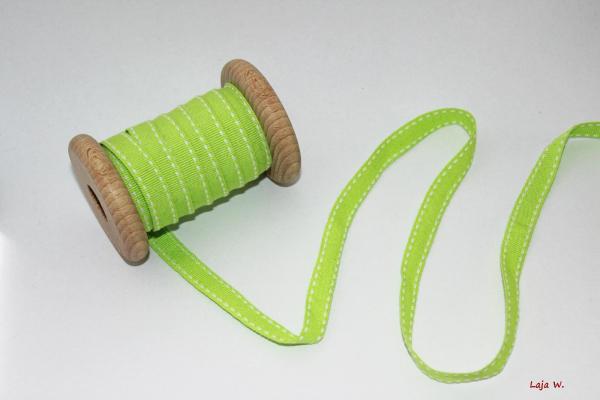 1151 Dortmund 15mm Breite Eigenproduktion Ripsband Webband Borte