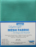 Netzstoff/ Lightweight Mesh Fabric by Annie's turquoise